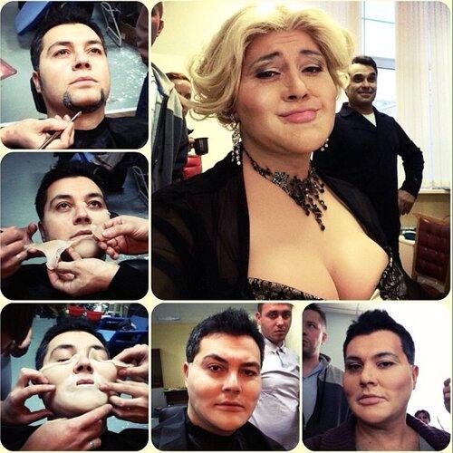 Алексей Чумаков в роли Любы Успенской