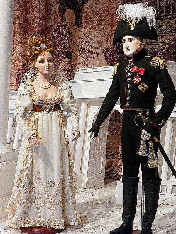 Елизавета Алексеевна и император Александр I