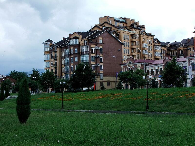 этажи Владикавказа