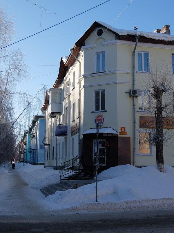 Юрга - Улица Комсомольская