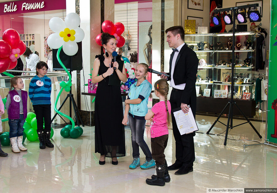 Конкурс на звание принцесс РИО. ТРЦ РИО, Саранск, 08.03.2013