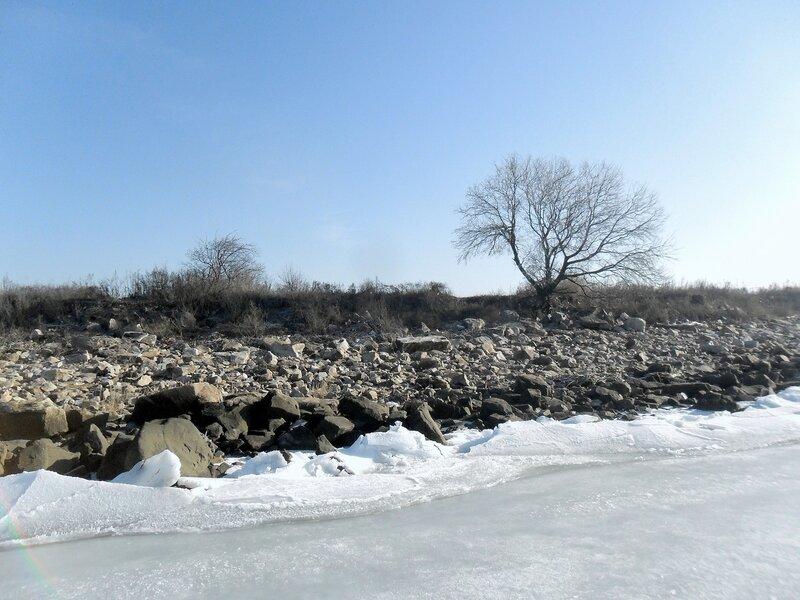 В походе, январь 2013