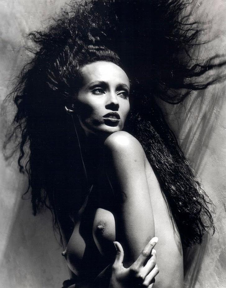Iman / Иман - портрет фотографа Грега Гормана / Greg Gorman