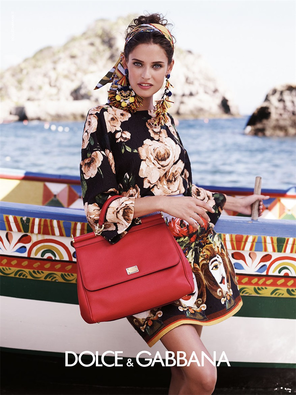 Моника Беллуччи, Бьянка Бэлти, Бьянка Брандолини и другие в Dolce-Gabbana, весна-лето 2013
