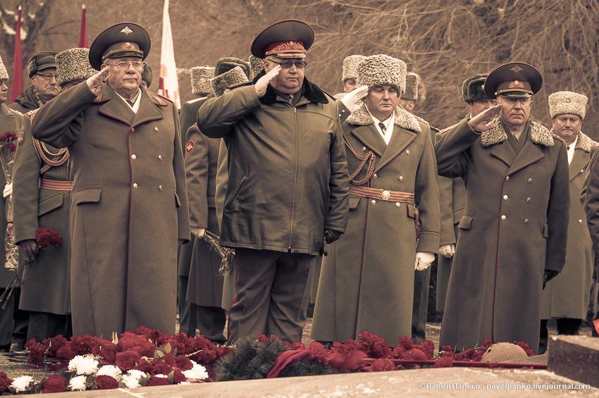 #Сталинград70 Волгоград Сталинград возложение Панько