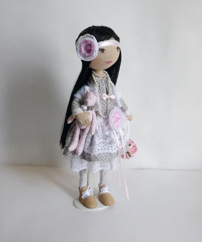 винтажная кукла