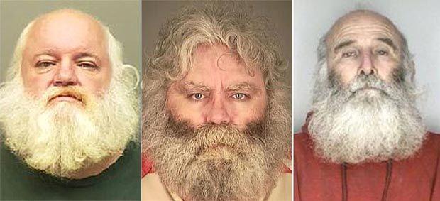 Накануне праздников у полицейских богатый улов Дедов Морозов