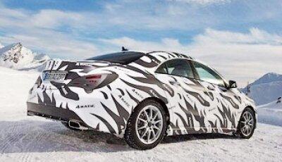 Полный привод 4Matic для Mercedes-Benz