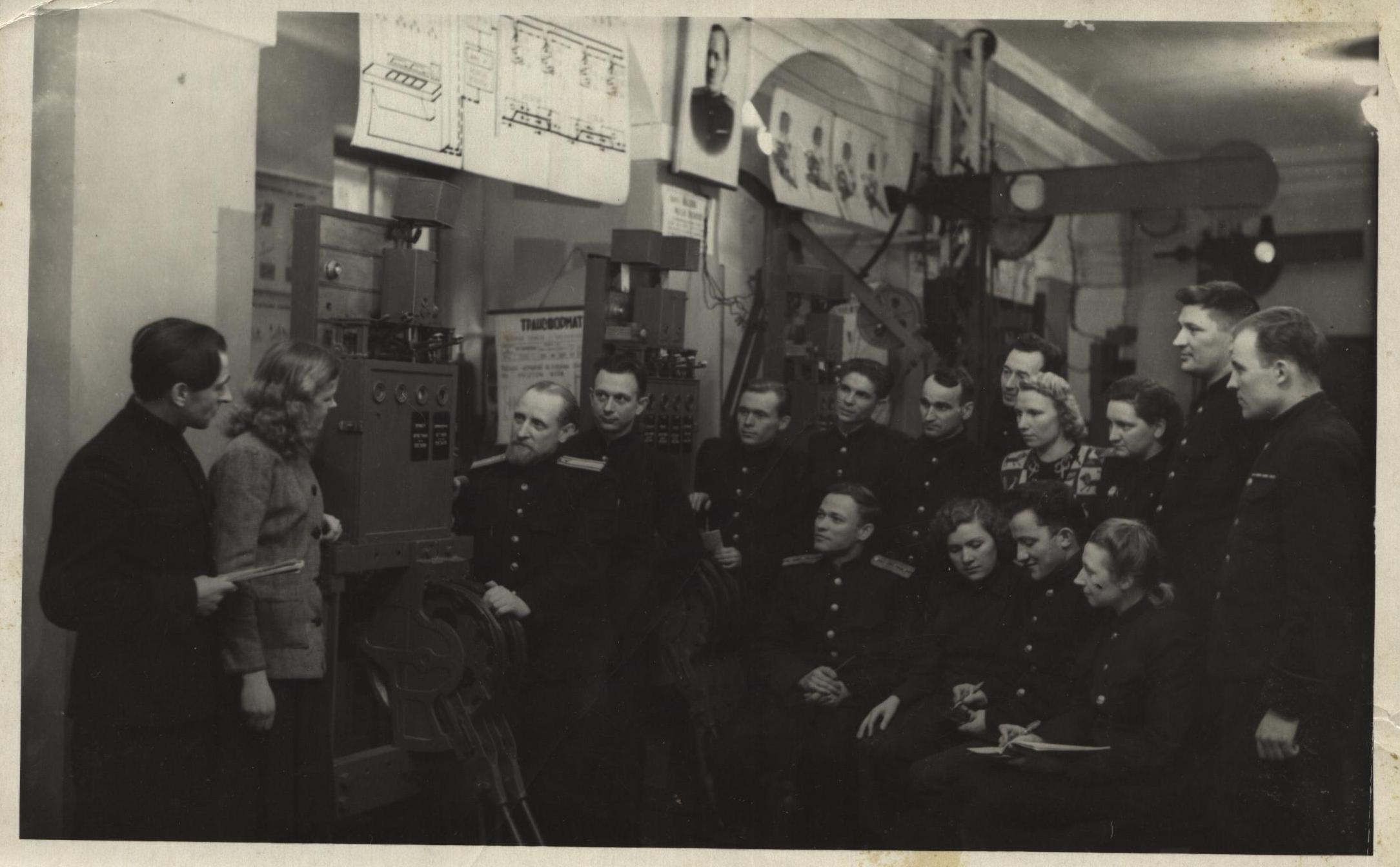 1953. Ленинградский ЛИИЖТА. Март