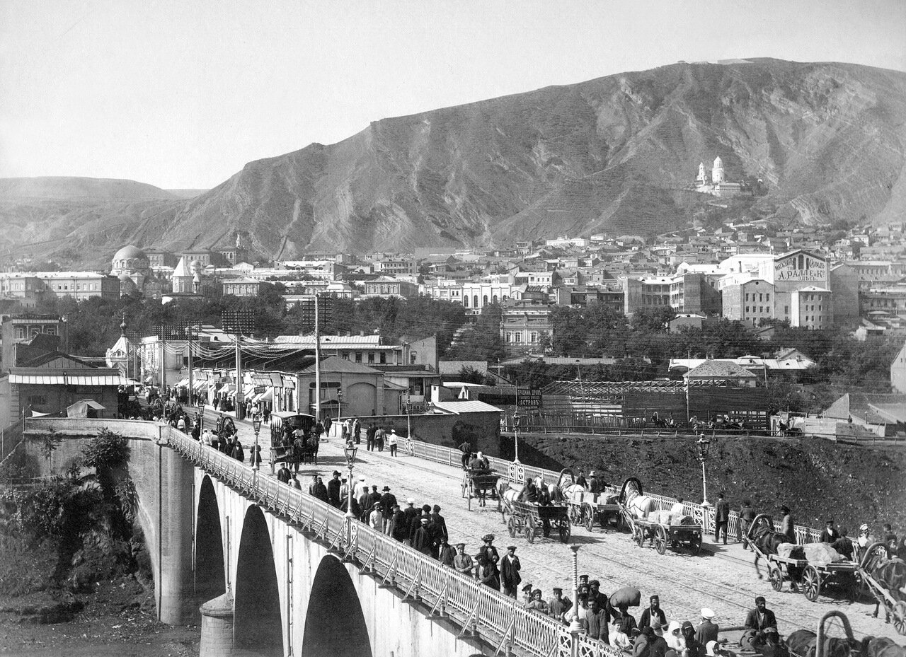 Тифлис в XIX веке, мост Михаила Воронцова