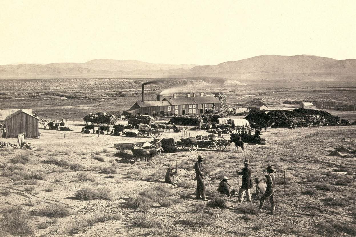 Кларенс Кинг, Невада в 1867 году