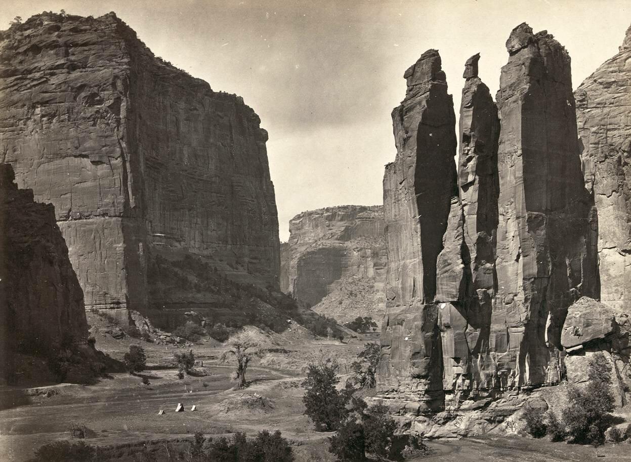 Каньон де Шелли, Аризона.1873 г.