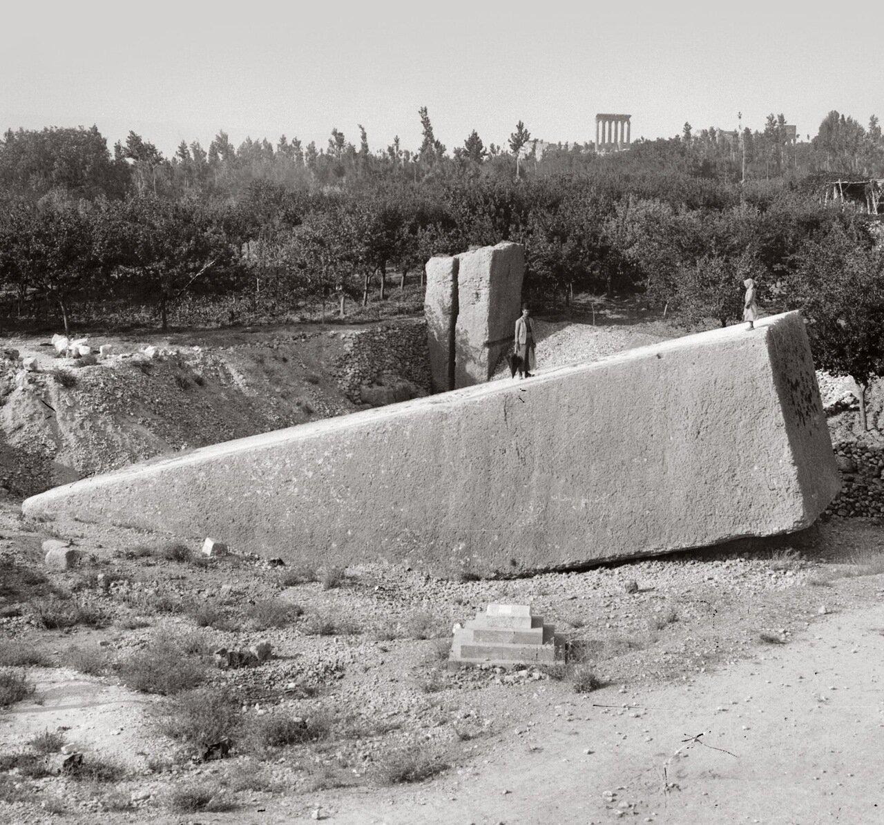 Большой карьер. Баальбек, Ливан. 1900-1920 гг.