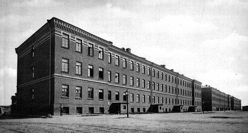 Николаевские казармы в Москве.