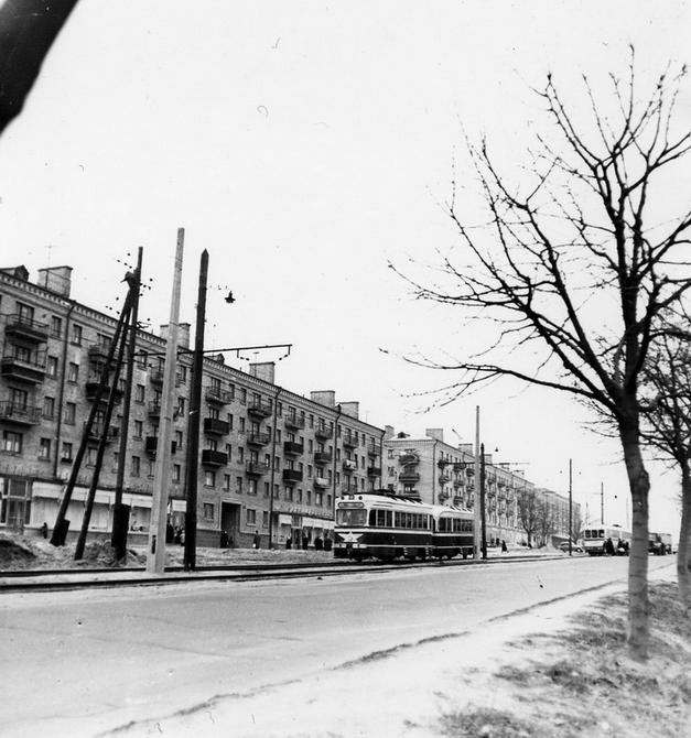 1962.12.11. Брест-Литовское шоссе. Фото: Селюченко М.