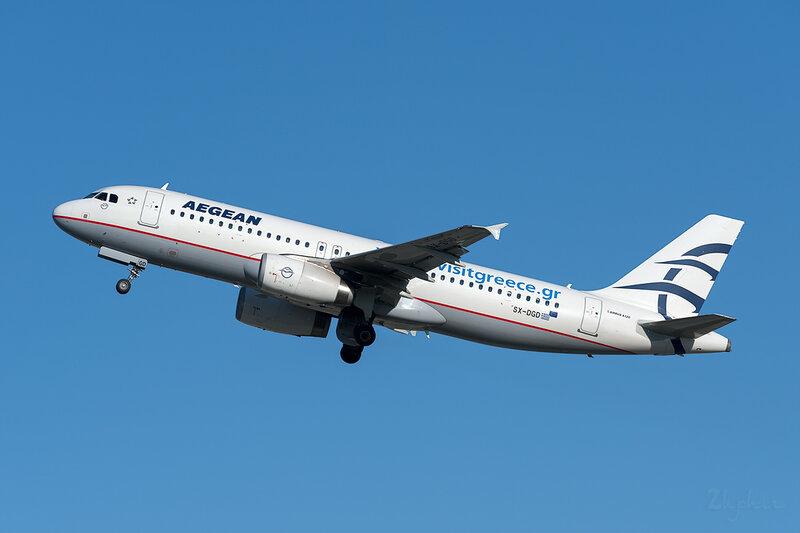 Airbus A320-232 (SX-DGD) Aegean DSC7030