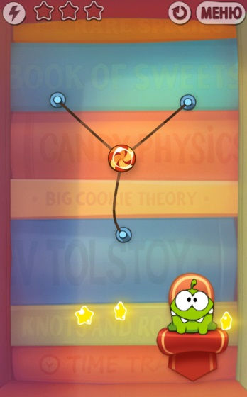 Cut the Rope: Experiments HD (Android игры)
