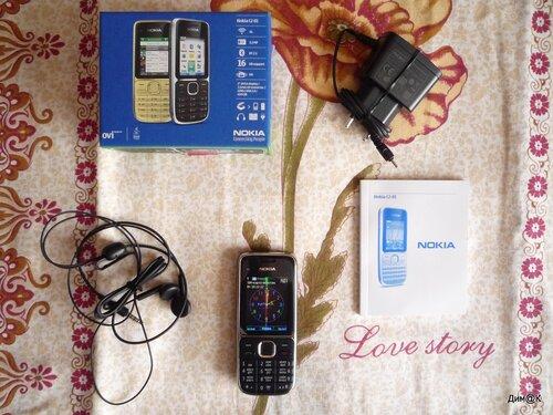 Нокия С2-01 (комплектация) для helpix.ru