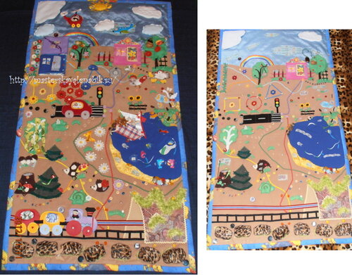 Развивающий коврик для детей. Автор: Татьяна Плотникова