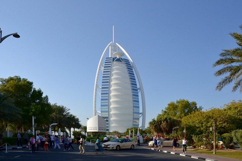 Бурдж аль-Араб (Арабская Башня)