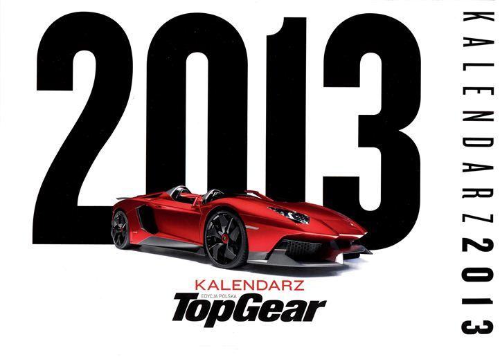 автожурнал Top Gear - календарь 2013