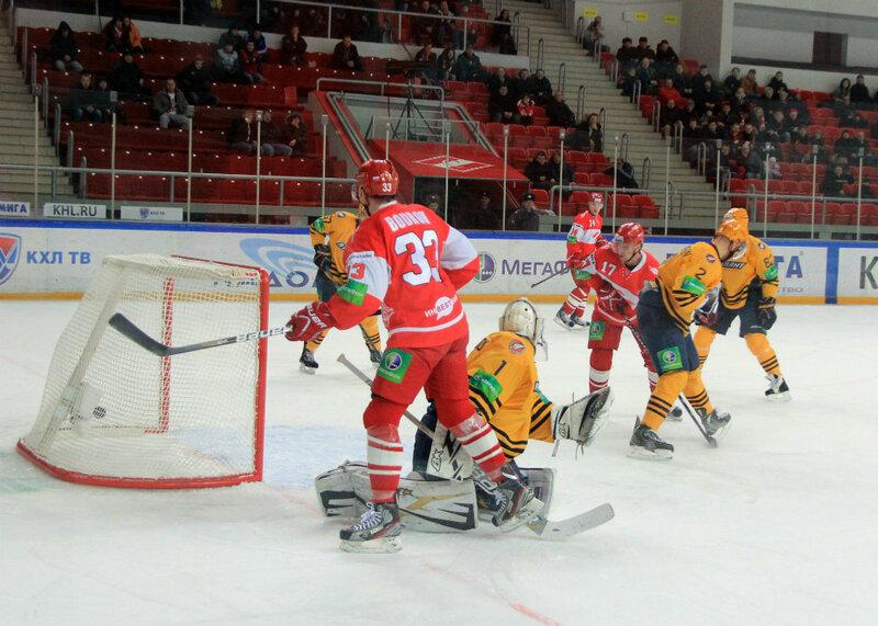 «Спартак» vs «Атлант» 5:1 контрольный матч и встреча с болельщиками (Фото)