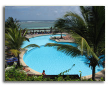 Кения. Момбаса. Leopard Beach Resort & Spa