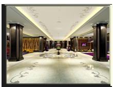 ОАЭ. Дубаи. Le Meridien Mina Seyahi Beach Resort & Marina. Lobby - rendering