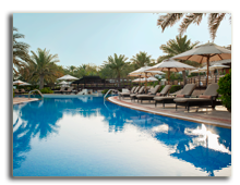 ОАЭ. Дубаи. The Westin Dubai Mina Seyahi Beach Resort & Marina. Pool