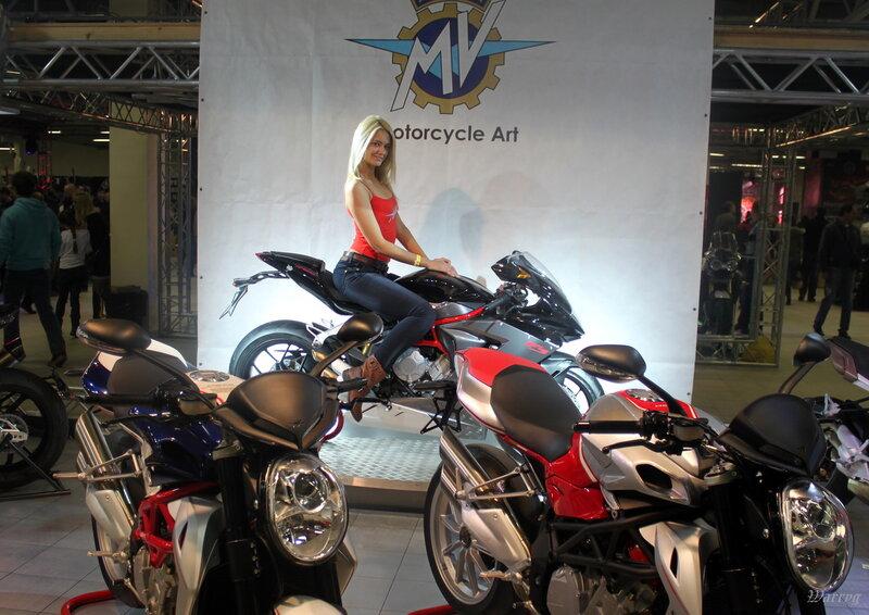 Итальянские мотоциклы MV Agusta