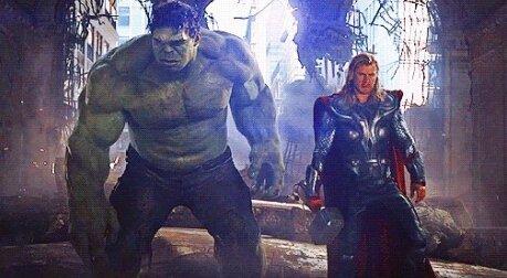 Халк и Тор
