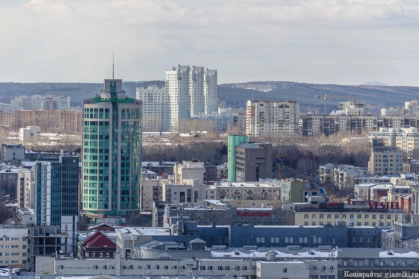 БЦ Палладиум. Екатеринбург.