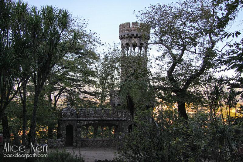 постройки на территории парка Регалейра