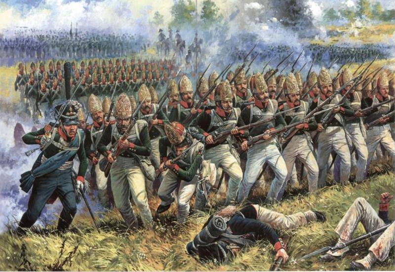 Атака Павловского полка