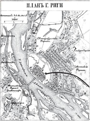 Оренбург. План города и фасады домов в XVIII в.