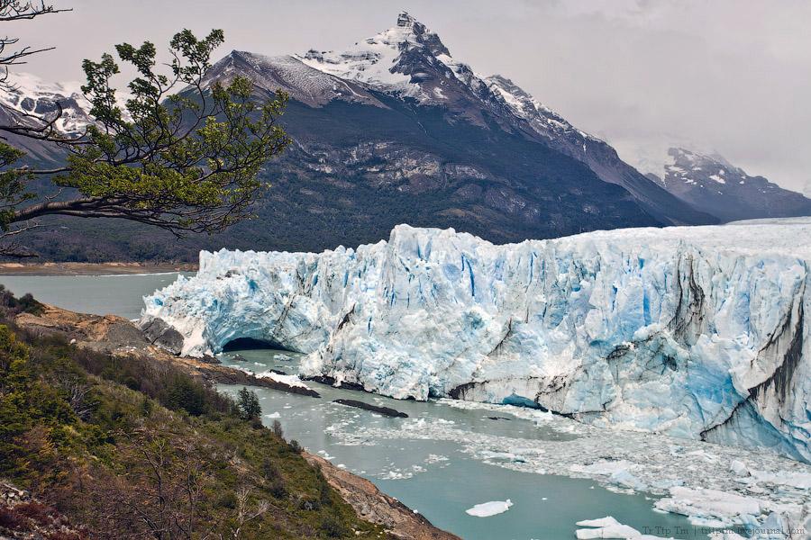 11. Устоявший перед потеплением. Ледник Перито Морено.