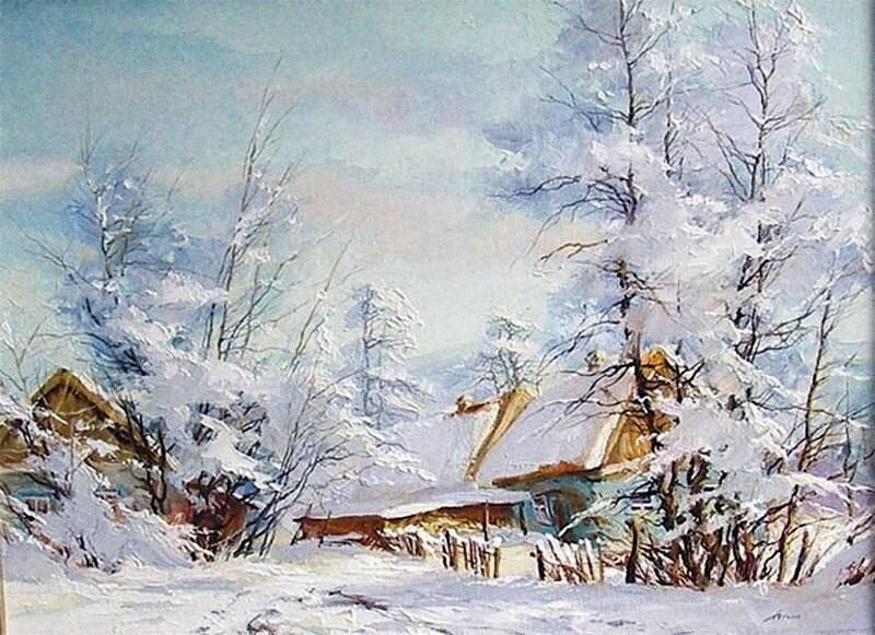 Нынешняя зима словно подарок екимов 7