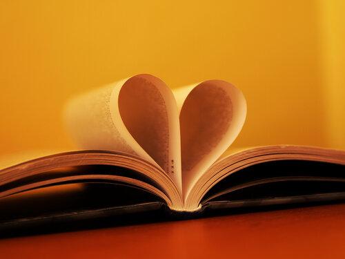 Книга может выражать эмоции