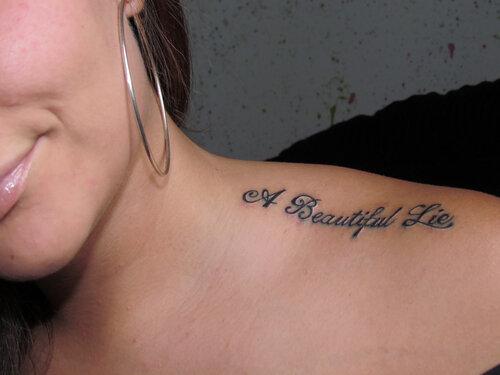 У тебя очень красивая татуировка! И весьма говорящая!