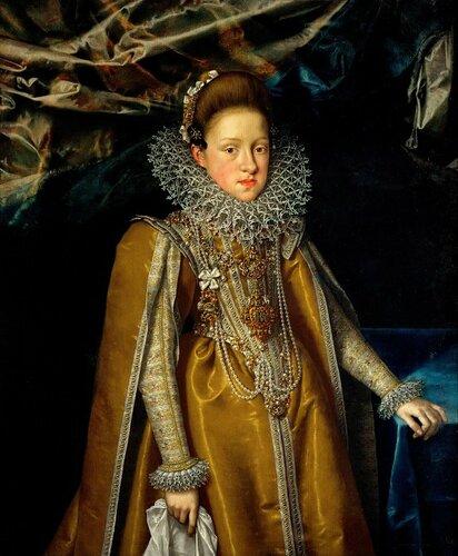 узей истории искусств: Франс Поурбус II - Эрцгерцогиня Мария Магдалена