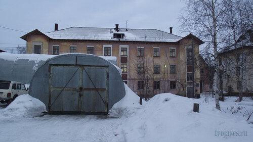 Фото города Инта №3264  Южная сторона Полярной 13 03.02.2013_12:27