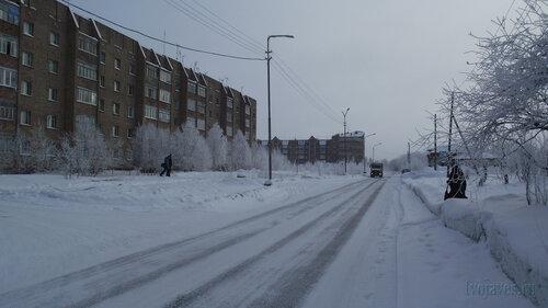 Фото города Инта №3498  Морозова 6 и Куратова 74 10.02.2013_12:04