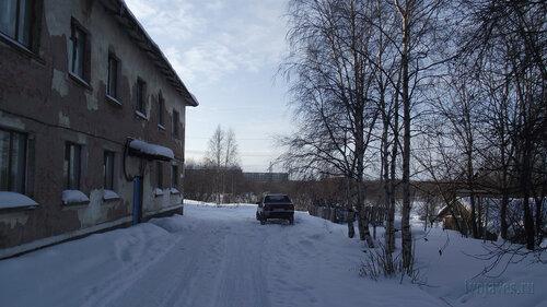 Фотография Инты №3755  Двор (северная сторона дома) Январской 15а 19.02.2013_12:53