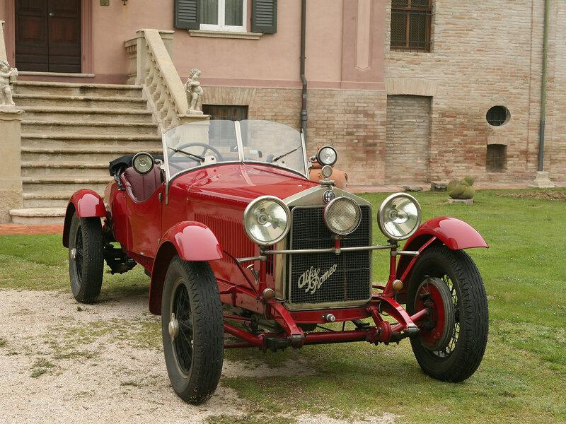 Alfa-Romeo-6C-1500-Mille-Miglia-Spider-Speciale - 1928
