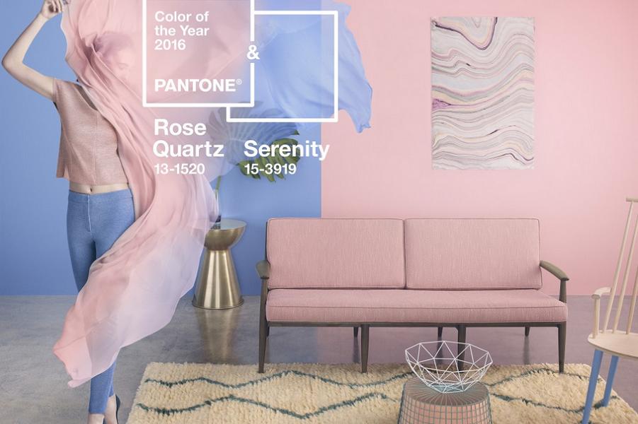 Розовый кварц и голубое спокойствие