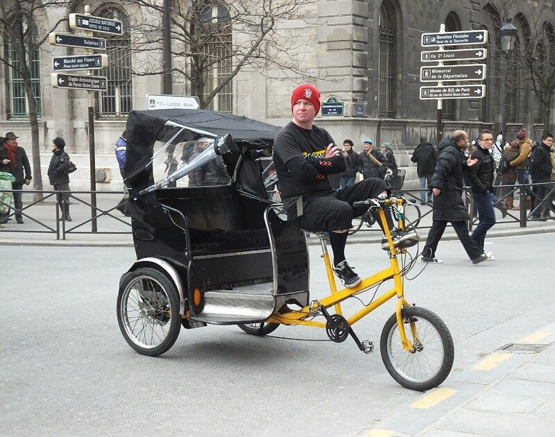 парижские рикши