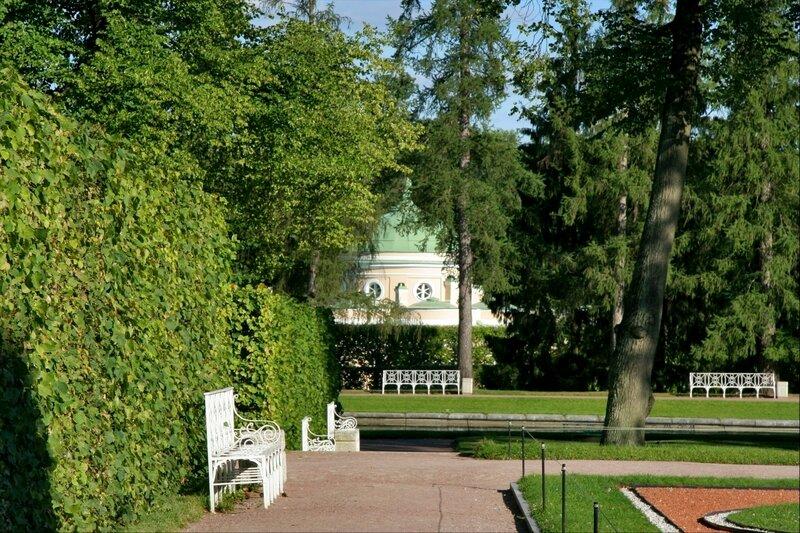 Екатерининский парк, Старый сад и Нижняя ванна