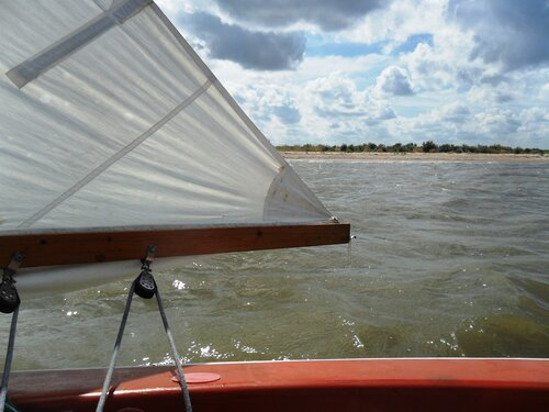 В море августа...