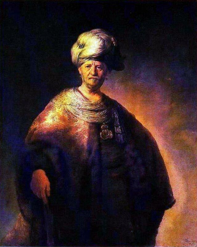 Картины старых мастеров, Рембрант, Знатный славянин