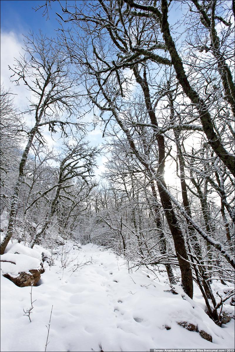 Снежный поход на Спирады